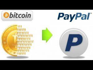 Cambiar Bitcoin a Dolares con Paypal