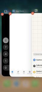 Cerrar varias ventanas en iOS